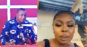 Afia Schwarzenegger Angry over Claim That She Took $100.000 From Wontumi