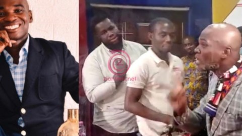 VIDEO: Dr UN Finally Loses It; Engages In Near Fistfight With Music Producer At A Radio Station & Uses Unprintable Words