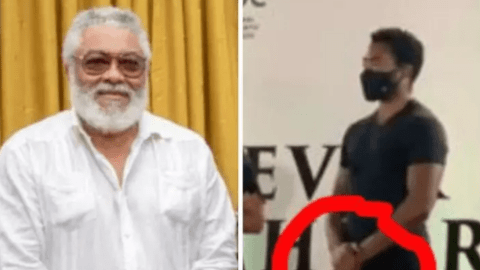 See What JJ Rawlings And His Son Kimathi Rawlings Have In Common That Most Ghanaians Don't Know