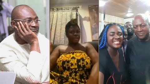 'You Slept With A Lady At Madina, Impotent Man' – Tracey Boakye Replies Kennedy Agyapong After He Insulted Her On Net 2 Tv