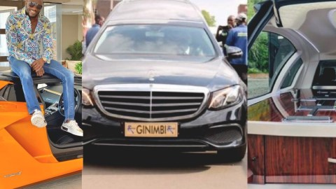 Mercedes Benz Pilato Hearse carrying Ginimbi's body to burial ground involved in an accident (Video)