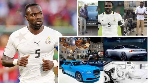 John Mensah age, height, children, wife, current team, salary, contact details, Instagram and net worth