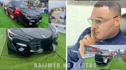 Photos Of Kantanka's Powerful Sports Car Drop