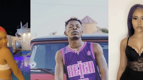 "Meet Shatta Wale's New Hot 'Girlfriend' Miss Christy White, Lady He Was Grinding At Hajia4real's ""Badder Than"" Song Release (Photos)"