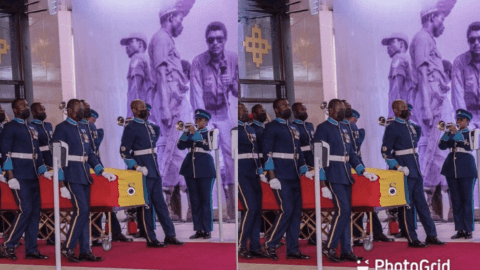 Watch How The Body Of J.J. Rawlings Arrived At Black Star Square