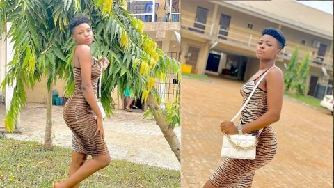 Photos of a Lady With Short Hairs That Got People Reacting On Facebook(Read More)