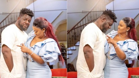 Nana Ama Mcbrown reacts for the first time after Bulldog's arrest by BNI