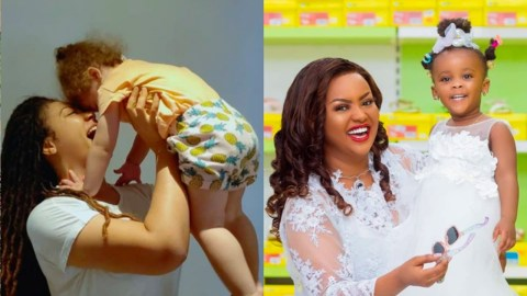 Cute Photos: 15 Times This Celebrity Mothers Show Motherly Love To Their Kids