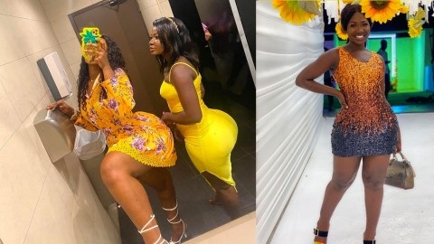 Meet The New Friend Of Abena Cilla Who Is Also Well Endowed With Big Backside That Is Causing Stir