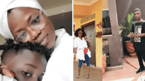 "He Was My Boyfriend And He Broke My Heart When He Left Me – Mzbel Breaks Down While Speaking About Adopted ""Son"""