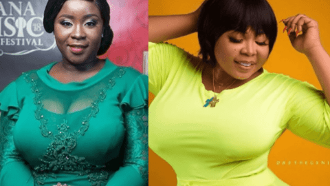 Beauty battle: Maame Serwaa vs Purfcie Conna. [Photos]