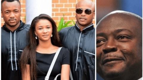 See Beautiful Family Photos Of Abedi Pele And His Children