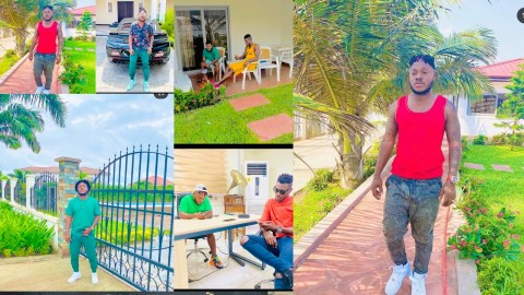 Keche No Dulling Hit Makers Put Their House At East Legon On Display: Check It Out