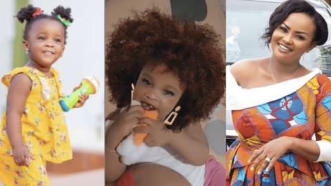 BABY MAXIN WEARS WIG FOR THE FIRST TIME REPLIES HER MOTHER'S COMMENT – (WATCH VIDEO)