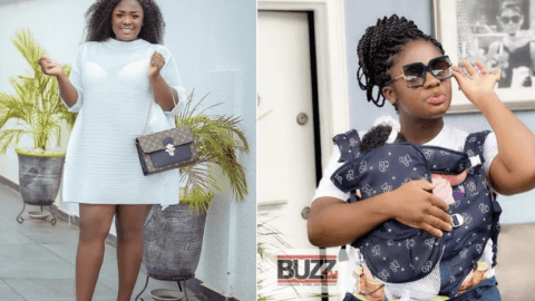 Actress Tracey Boakye flaunts the mansion she is buiding for her daughter (video)