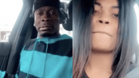 Video Of Shatta Wale Chopping Love With Magdalene, 'His Cousin', In His Car