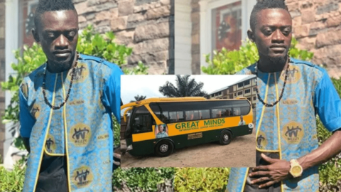 Lilwin awards a scholarship to the sibling of the 5-year-old girl whom his school bus killed