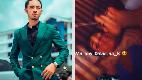PHOTO: Like Mother Like Son – Afia Schwar's Son Has A Girlfriend And He's Already Fvcking Her