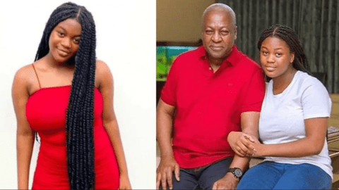 Chairman Wontumi exposes Mahama's daughter Farida Mahama for posting false news.