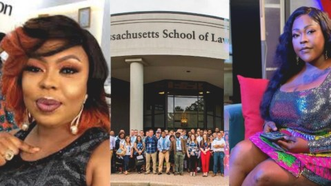 Law School is not like chοpping Kοti – Afia Schwar mocks Mona Gucci for lying to Ghanaians