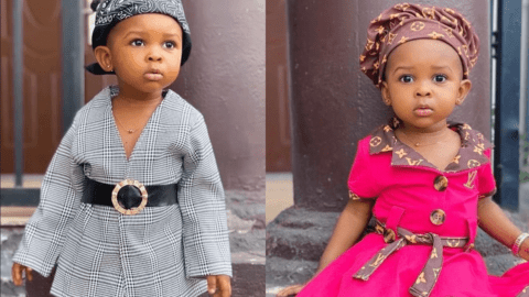 Cute: See the photos of Nana Ama's daughter that will inspire your child's fashion