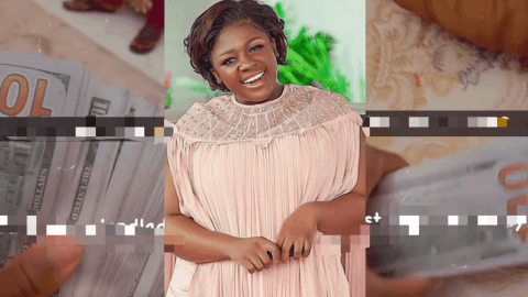 Tracey Boakye Shares Video Of Taking Rent Money To Prove She Is Still 'East Legon Landlady'