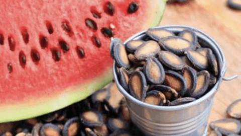 Do You Know What Watermelon Seeds Do To Us After Chewing Them? Check It Out