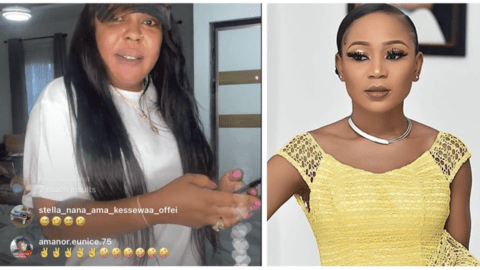 Nsawam Will Humble you – Afia Schwarzenegger Indirectly Trolls Akuapem Poloo On Her Instagram Live.