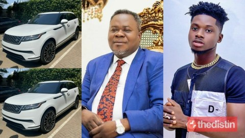 Dr. Kwaku Oteng Gifts Kuami Eugene A Brand New 2020 Range Rover Velar For Being Brand Ambassador Of Adonko Next Level Energy Drink