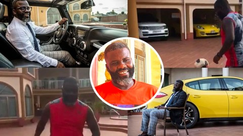 Checkout The Luxurious Lifestyle Of Samuel Osei Kuffour, His Expensive Mansion And Cars.