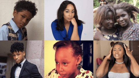 Top 7 Popular Ghanaian Child Actors Who Have Grown Into Amazing Adults.