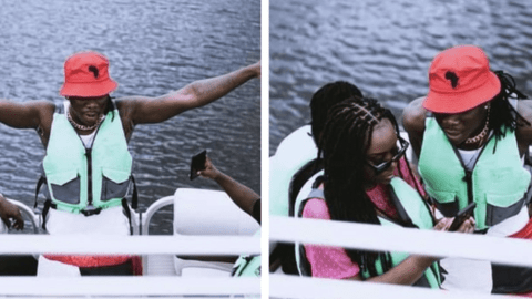 Stonebwoy and Wife spotted chilling on weekends – [More Photos]