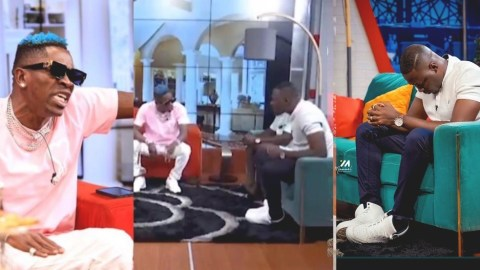 """""""My fans wear quality shoes than you do, you don't own a house – Shatta Wale clashes with Arnold"""