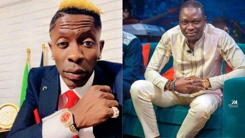 Watch Shatta Wale and Arnold clash on United Showbiz Online 2021.