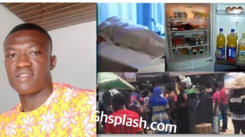 VIDEO: Sunyani Police arrest Young Guy for kɨllɨng Missing kids and keeping them in Fridge