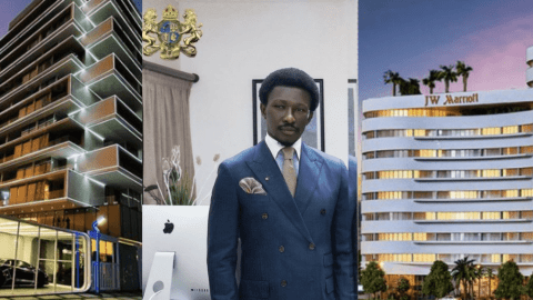 """The Inspiring Story Of Nana Kwame Bediako """"From One Plot Of Land To Owning 700 Houses"""" – List Of His Properties"""