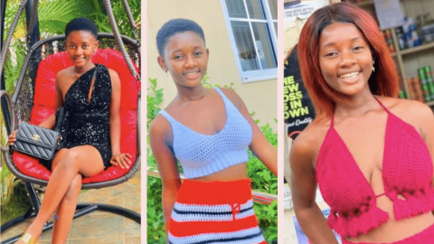16yrs old fast rising social media star Akua flaunts her Beauty on the Internet