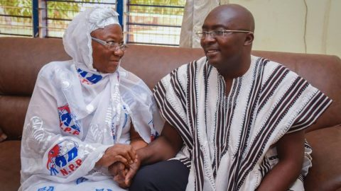Bawumia's mother dead