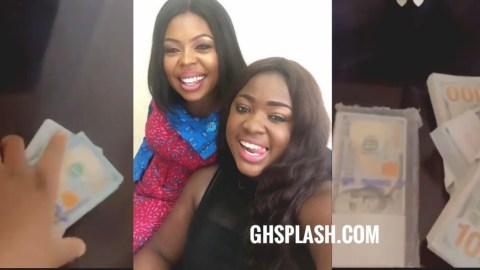 Tracey Boakye Brags As She Dashes Afia Schwar $40,000 for another body enhancement surgery (Video)