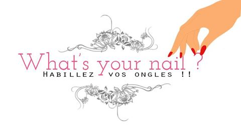 Logo what's your nail