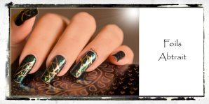 NAIL ART FOILS ABSTRAIT 4