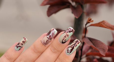 NAIL ART JUNGLE ASIATIQUE 2