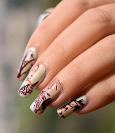 NAIL ART JUNGLE ASIATIQUE 5