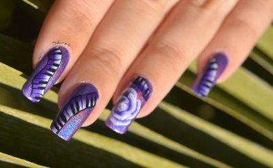NAIL ART ONE STROKE MUSIQUE