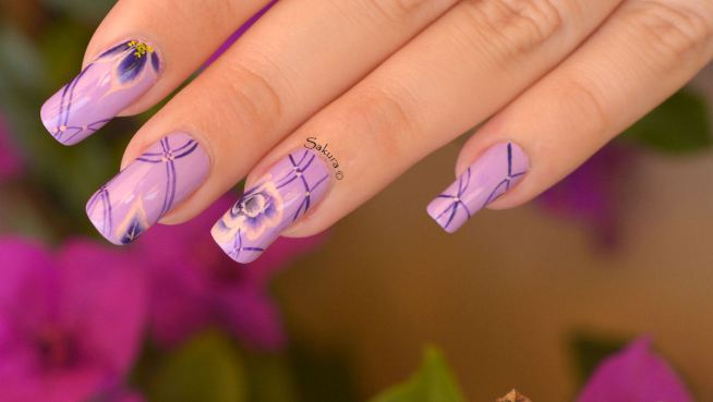 NAIL ART ONE STROKE LIGNES 2
