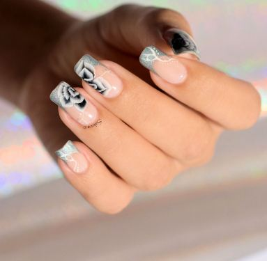 NAIL ART ONE STROKE