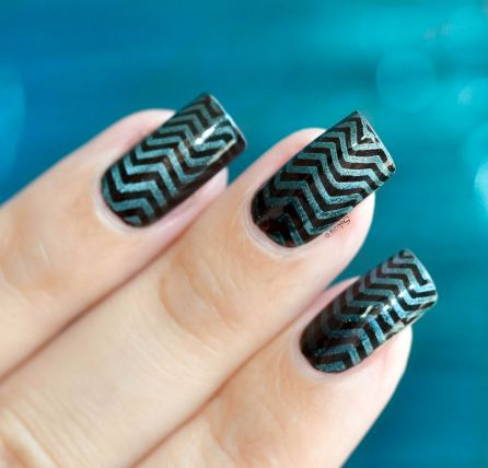 NAIL ART STAMPING GRADIENT MAGNETIC 4