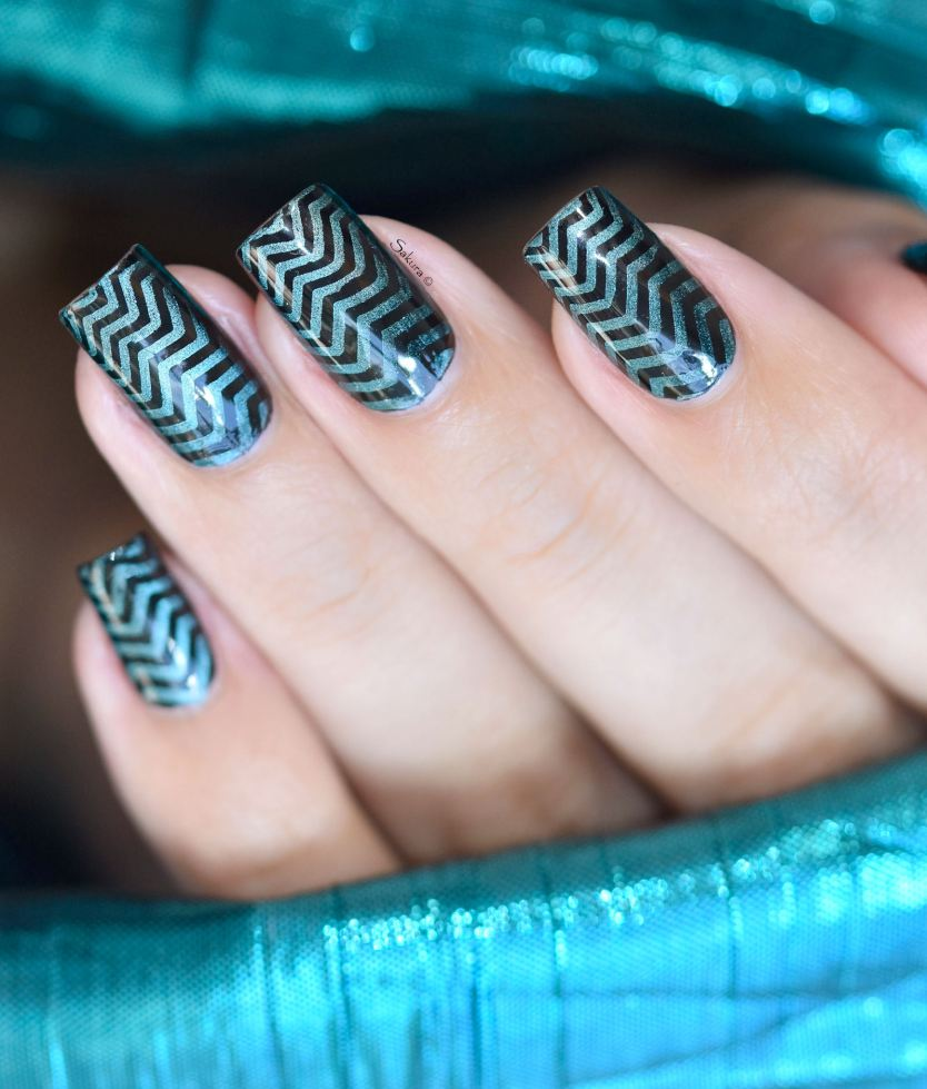 NAIL ART STAMPING GRADIENT MAGNETIC 9