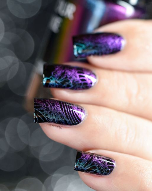 NAIL ART STAMPING YOURS ANNALEE 9