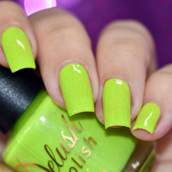 DELUSH POLISH DONT GET IT CITRUS 3